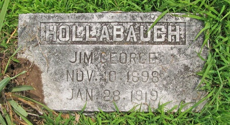 HOLLABAUGH, JIM GEORGE - Barry County, Missouri | JIM GEORGE HOLLABAUGH - Missouri Gravestone Photos