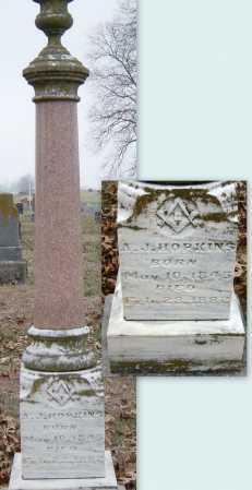"HOPKINS, A J ""ANDY"" - Barry County, Missouri   A J ""ANDY"" HOPKINS - Missouri Gravestone Photos"