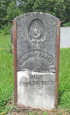 HOUNSHELL, WILLIAM M - Barry County, Missouri   WILLIAM M HOUNSHELL - Missouri Gravestone Photos