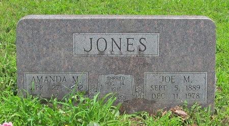 JONES, JOE M - Barry County, Missouri | JOE M JONES - Missouri Gravestone Photos
