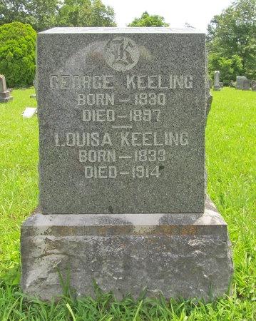 KEELING, GEORGE R - Barry County, Missouri | GEORGE R KEELING - Missouri Gravestone Photos