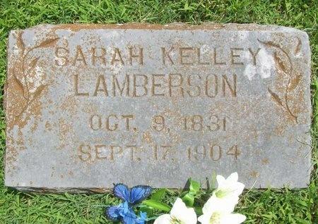 KELLEY LAMBERSON, SARAH - Barry County, Missouri | SARAH KELLEY LAMBERSON - Missouri Gravestone Photos