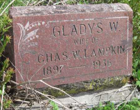 LAMPKIN, GLADYS W - Barry County, Missouri | GLADYS W LAMPKIN - Missouri Gravestone Photos
