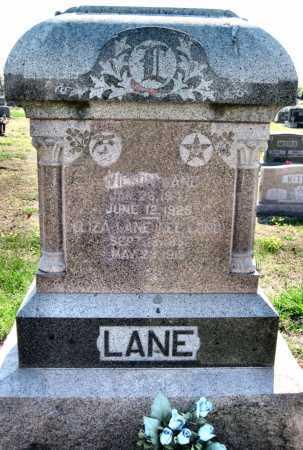 LANE, ELIZA - Barry County, Missouri   ELIZA LANE - Missouri Gravestone Photos