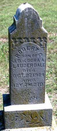 LAUDERDALE, ROBERT C - Barry County, Missouri | ROBERT C LAUDERDALE - Missouri Gravestone Photos