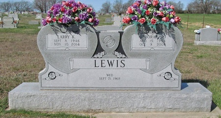 LEWIS, LARRY K - Barry County, Missouri | LARRY K LEWIS - Missouri Gravestone Photos