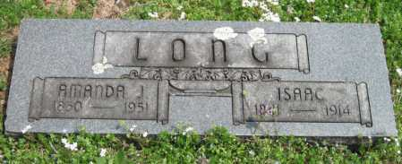 LONG, AMANDA JANE - Barry County, Missouri | AMANDA JANE LONG - Missouri Gravestone Photos