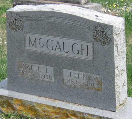 "MCGAUGH, ""SADIE"" SARAH LILLIAN - Barry County, Missouri 
