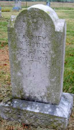 MCGLOTHLIN, ANDREW - Barry County, Missouri | ANDREW MCGLOTHLIN - Missouri Gravestone Photos