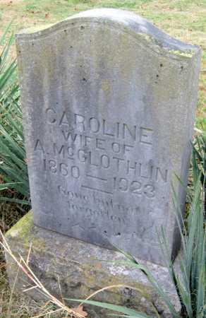 MCGLOTHLIN, CAROLINE - Barry County, Missouri | CAROLINE MCGLOTHLIN - Missouri Gravestone Photos