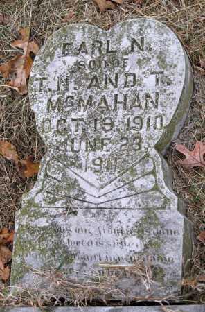 MCMAHAN, EARL N - Barry County, Missouri   EARL N MCMAHAN - Missouri Gravestone Photos