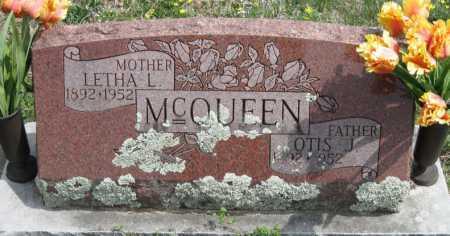 MCQUEEN, OTIS J - Barry County, Missouri | OTIS J MCQUEEN - Missouri Gravestone Photos