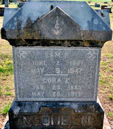 LANE MCQUEEN, CORA ETHEL - Barry County, Missouri | CORA ETHEL LANE MCQUEEN - Missouri Gravestone Photos
