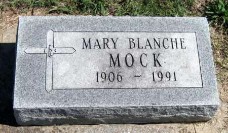 MOCK, MARY BLANCHE - Barry County, Missouri | MARY BLANCHE MOCK - Missouri Gravestone Photos