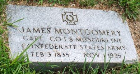 MONTGOMERY, JAMES (VETERAN CW) - Barry County, Missouri | JAMES (VETERAN CW) MONTGOMERY - Missouri Gravestone Photos