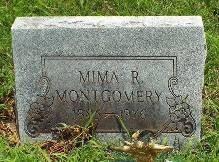 MONTGOMERY, MIMA R - Barry County, Missouri   MIMA R MONTGOMERY - Missouri Gravestone Photos
