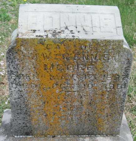 MOORE, BONNIE - Barry County, Missouri | BONNIE MOORE - Missouri Gravestone Photos