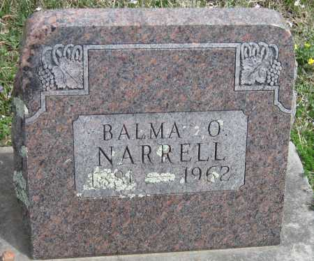 NARRELL, BALMA O - Barry County, Missouri | BALMA O NARRELL - Missouri Gravestone Photos