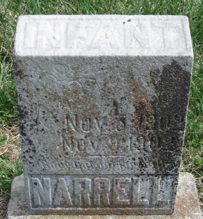 NARRELL, INFANT - Barry County, Missouri | INFANT NARRELL - Missouri Gravestone Photos