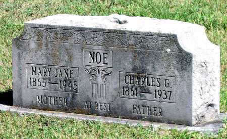NOE, MARY JANE - Barry County, Missouri | MARY JANE NOE - Missouri Gravestone Photos
