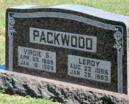 PACKWOOD, VIRGIE S - Barry County, Missouri | VIRGIE S PACKWOOD - Missouri Gravestone Photos