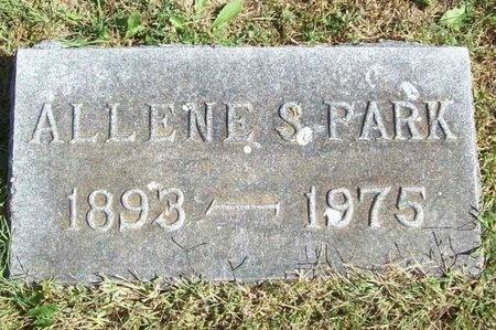 PARK, ALLENE S. - Barry County, Missouri | ALLENE S. PARK - Missouri Gravestone Photos