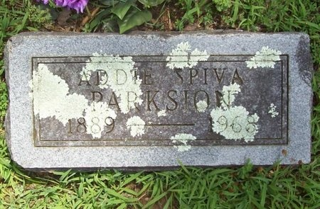 SPEARS PARKSION, ADDIE MAY - Barry County, Missouri | ADDIE MAY SPEARS PARKSION - Missouri Gravestone Photos