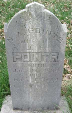 POINTS, N A - Barry County, Missouri | N A POINTS - Missouri Gravestone Photos