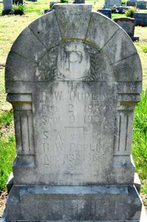 POPLIN, SARAH AMANDA - Barry County, Missouri | SARAH AMANDA POPLIN - Missouri Gravestone Photos