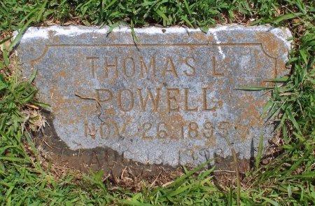 "POWELL, THOMAS L. ""TOMMIE"" - Barry County, Missouri | THOMAS L. ""TOMMIE"" POWELL - Missouri Gravestone Photos"