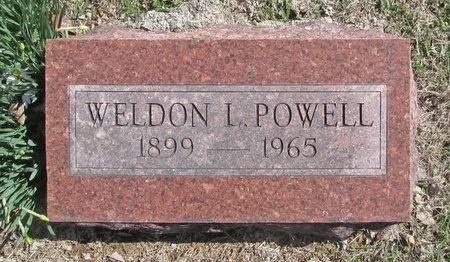 POWELL, WELDON L - Barry County, Missouri   WELDON L POWELL - Missouri Gravestone Photos
