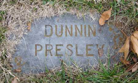 PRESLEY, JR, JESSIE ELVETUS DUNNIN - Barry County, Missouri   JESSIE ELVETUS DUNNIN PRESLEY, JR - Missouri Gravestone Photos