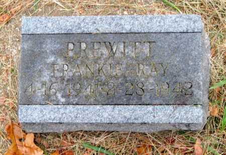 PREWITT, FRANKIE RAY - Barry County, Missouri | FRANKIE RAY PREWITT - Missouri Gravestone Photos