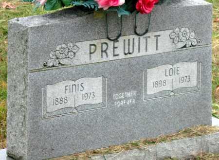 PREWITT, FINIS - Barry County, Missouri | FINIS PREWITT - Missouri Gravestone Photos