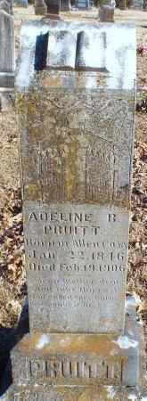 PRUITT, ADELINE BUTTON - Barry County, Missouri | ADELINE BUTTON PRUITT - Missouri Gravestone Photos