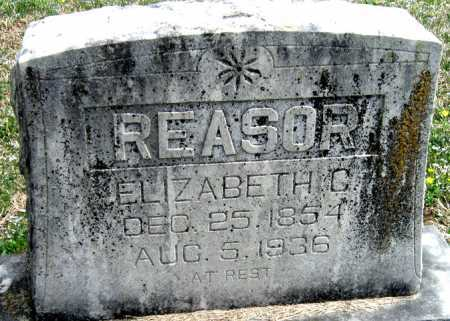 REASOR, ELIZABETH C - Barry County, Missouri | ELIZABETH C REASOR - Missouri Gravestone Photos