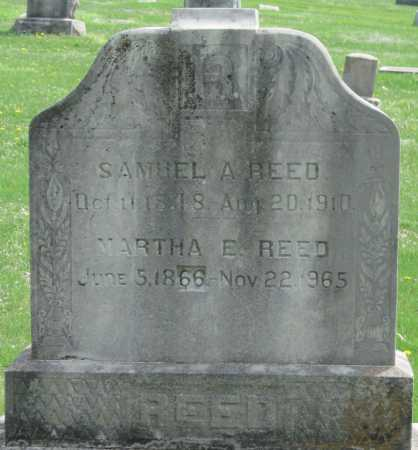 REED, SAMUEL A - Barry County, Missouri | SAMUEL A REED - Missouri Gravestone Photos