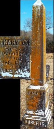 ROBERTS, MARY C - Barry County, Missouri | MARY C ROBERTS - Missouri Gravestone Photos