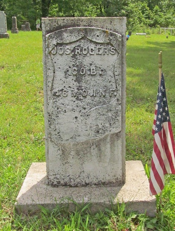 ROGERS, JOSEPHUS VETERAN UNION - Barry County, Missouri   JOSEPHUS VETERAN UNION ROGERS - Missouri Gravestone Photos