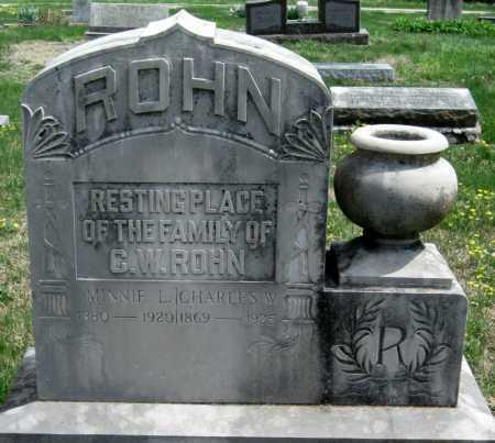 HAMMOND ROHN, MINNIE - Barry County, Missouri | MINNIE HAMMOND ROHN - Missouri Gravestone Photos