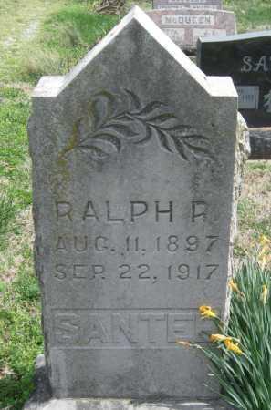 SANTEE, RALPH R - Barry County, Missouri   RALPH R SANTEE - Missouri Gravestone Photos