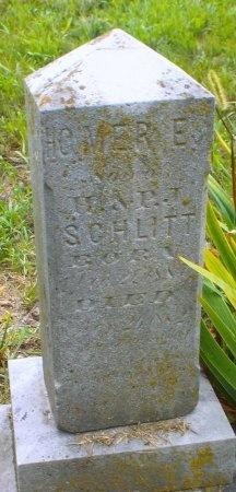 SCHLILTT, HOMER E - Barry County, Missouri   HOMER E SCHLILTT - Missouri Gravestone Photos