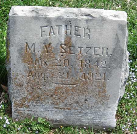 SETZER, MILFORD Y - Barry County, Missouri | MILFORD Y SETZER - Missouri Gravestone Photos