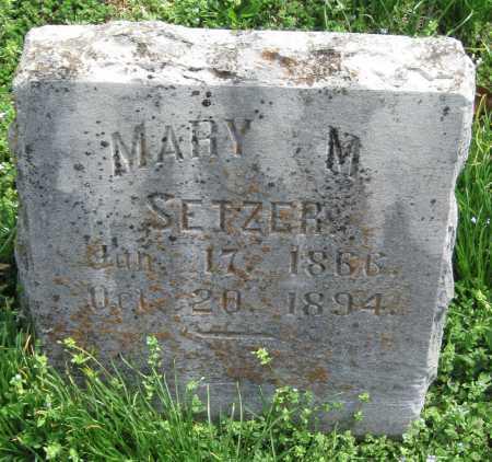 SETZER, MARY MATILDA - Barry County, Missouri | MARY MATILDA SETZER - Missouri Gravestone Photos