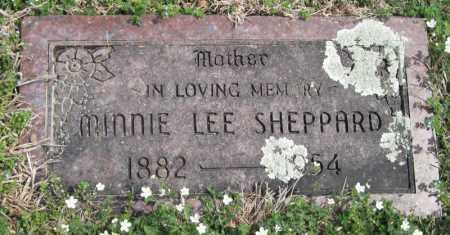 SHEPPARD, MINNIE LEE - Barry County, Missouri | MINNIE LEE SHEPPARD - Missouri Gravestone Photos
