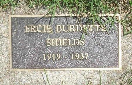 SHIELDS, ERCIE BURDETTE - Barry County, Missouri | ERCIE BURDETTE SHIELDS - Missouri Gravestone Photos