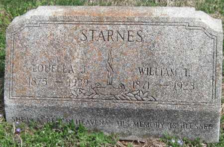 STARNES, WILLIAM T - Barry County, Missouri | WILLIAM T STARNES - Missouri Gravestone Photos