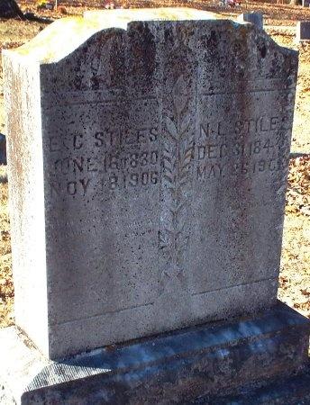 STILES, E C - Barry County, Missouri | E C STILES - Missouri Gravestone Photos