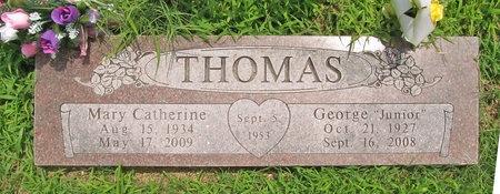 "THOMAS, GEORGE ""JUNIOR"" - Barry County, Missouri | GEORGE ""JUNIOR"" THOMAS - Missouri Gravestone Photos"