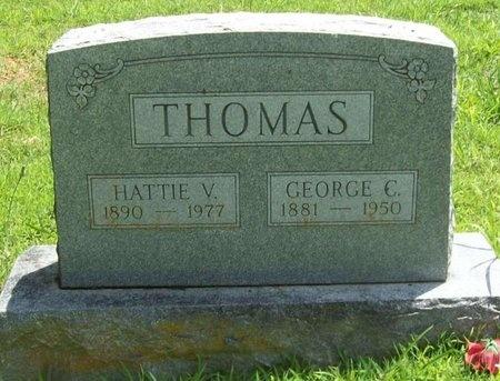THOMAS, GEORGE C. - Barry County, Missouri | GEORGE C. THOMAS - Missouri Gravestone Photos